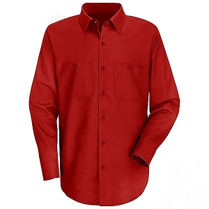 Men's Red SP14 L/S Shirt