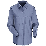 Female Long Sleeve Industrial Work Shirt