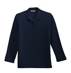 Ladies' Silk Touch™ Long Sleeve Polo Shirt
